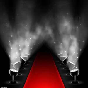 Red Carpet Photo Background Thin Vinyl Photography Backdrop Hollywood 5X7FT HW18