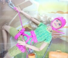 Barbie Rock Climber Doll Made to Move Ultra Flexible Toy Camping Fun Play Set