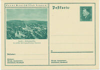 DT.REICH Friedrich Ebert 6 Pf 1932 Bildpost-GA KASSEL – Wilhelmshöhe