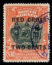 MOMEN: NORTH BORNEO SG #234 1918 USED **CERT** LOT #60135