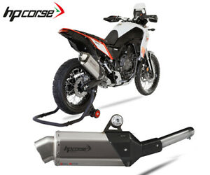 Exhaust Muffler Hpcorse 4track R Short Titanium Yamaha Tenere 2019 > 2020