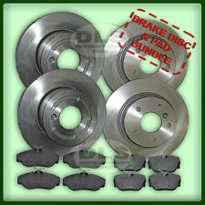 LAND ROVER DISCOVERY 2 - Brake Disc and Pad Set Front and Rear (DLS410)