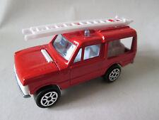 1980 Era Majorette Red 1:60 Range Rover Emergency Fire Truck #248 France (Mint)