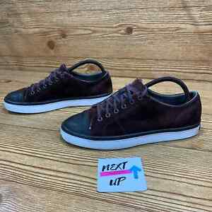 Cole Haan Grand.Os GrandPro Brown Suede Leather Cap Toe Casual Dress Sneaker 8.5