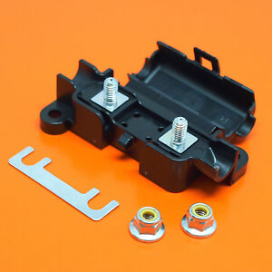 Heavy Duty 50 AMP Strip Link Fuses & Fuse Holder Suitable For Midi & Strip Fuses