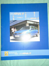 Renault Clio Campus range brochure Oct 2006