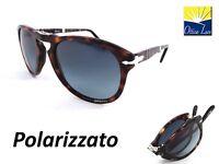 Persol 714 24/S3 52 Avana PIEGHEVOLE 24S3 Sunglass Occhiali Sonnenbrille Polar