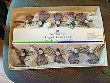 Angel Lantern Indoor/Outdoor String Lights Set of 10