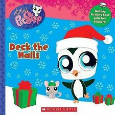 Childrens Activity Book Infants LITTLEST PET SHOP DECK THE HALLS Primary Fun