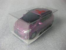 Mitsubishi New Mirage Colt Purple 2012 1:64 Diecast Pull Back Car Promo NIB