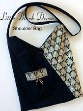 LITTLE BLACK DRESS SHOULDER BAG / PURSE KIT - Incl Pattern & all Moda Fabric