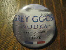 Grey Goose Vodka France Cocktail Advertisement Button Pin FREE USA Shipping $20