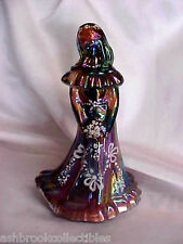 Fenton Art Glass Mulberry Carnival Bridesmaid Doll VIP Night Sample