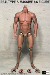 GangHood 1/6 Scale Muscular Body 1.0 Version For Hot Toys Bane Head Sculpts