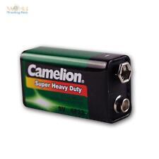 9V-Block Battery Camelion Zinc / Coal 9,0 Volt Block Battery 9 V Block Battery