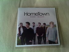 HOMETOWN - WHERE I BELONG - UK PROMO CD SINGLE