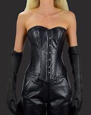 Aw-0931 - Soft Corsetto in pelle da morbido lammnapa, corsetto, piena Corsetto Petto, corset