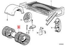 Genuine BMW E12 E21 E24 E28 Coupe Sedan Heater Blower OEM 64111354618