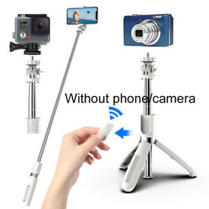 Foldable 100cm Phone Selfie Stick Tripod BT Remote Shutter For DJI/GpPro/Mijia