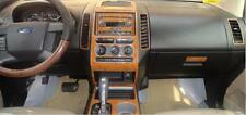 INTERIOR WOOD DASH TRIM KIT SET FOR FORD EDGE SE SEL LIMITED 2007 2008 2009 2010