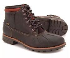 Nuevo 👤 Clarks 👤 Size UK 6.5 (UE 40) Hombres Marrón Midford Up GTX Gore-Tex Botas Zapatos