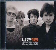 U2 18 Singles Greatest Hits CD NEW Bono I Will Follow Desire