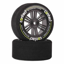 Contact RC Foam Tyres - 1/10 Rear 30mm 40Sh Jap Carbon (Pair) - J14074