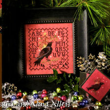 "Blackbird Designs ""Blackbird's Winter Delivery"" Counted Cross Stitch Pattern"