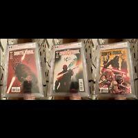 Darth Maul #1 #2 #3 (Marvel 2017) Signed Bunn! 1st Cad Bane PGX 9.8 (Not CGC SS)