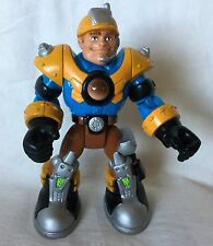 """Fisher Price Rescue Heroes Jack Hammer #78370 6"""" Action Figure 2001"""