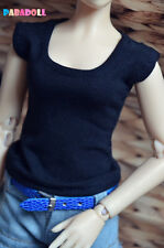 Simple Modal T-Shirt for BJD 1/4 MSD 1/3 SD16 DD IP EID Girl Doll Clothes CWB28