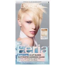 LOreal Paris Feria Hair Color Gel Kit, Ultra Cool Blonde [11.11] 1 ea