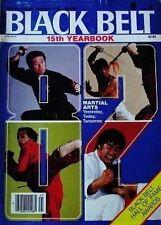 1982 BLACK BELT YEARBOOK MASAAKI HATSUMI FUMIO DEMURA NINJA KARATE MARTIAL ARTS