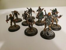 Warmachine: Mercenaries - Croe's Cutthroats Unit 10 Models Painted