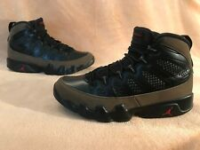 Nike Jordan 9 IX retro Black Olive Red Basket classic air max taille 42