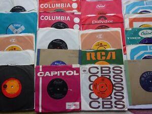 "JOB LOT VINYL RECORDS 20 X 7"" POP SINGLES NICE CONDITION"