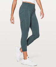 Lululemon All The Right Places Crop II 23'' Gravity Size 6  $118