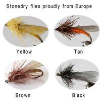 Riverruns Realistic Flies Stonefly Dry Colors Trout UV Super Sturdy flies New