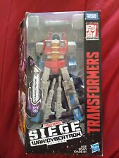 Transformers War for Cybertron Starscream Mint in package