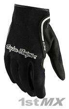 Troy Lee Designs TLD Guantes MX Motocross Raza XC Negro Adulto Xlarge