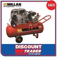 McMillan C-Series Cast Iron Pump Belt Drive 240V/15Amp Air Compressor - C16