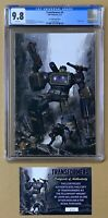 Transformers #2 CGC 9.8 Gallagher FELLOWSHIP VIRGIN Edition w/ COA