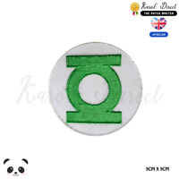 Green Lantern Super Hero Embroidered Iron On Sew On PatchBadge For Clothes etc