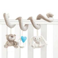 Baby Bed Safe Stroller Pram Spiral Hang Rattle Educational Animal Toy Hot sale