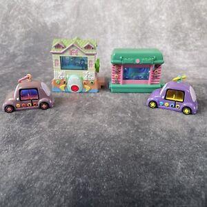 PIXEL CHIX Babysitters House / Secret Life of Pets Jammin Hamster / Purple Cars