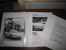 Pressemappe Mazda 626 1991