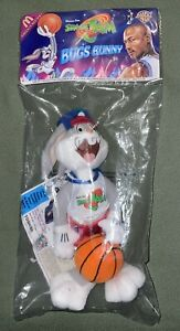 VTG Space Jam Bugs Bunny Plush McDonalds Happy Meal 1996 Promo Toy FACTORY SEAL