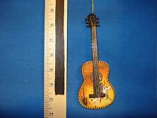 Acoustic Guitar Ornament with Cowboy Theme 6337 557