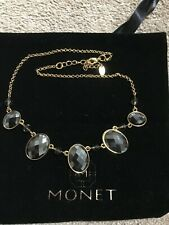 Diamonte coloured stones-Brand new Woman's Monet necklace with