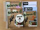 Bob Jones Science 6 Teacher/student textbook/cd  homeschooling BJU lot of 5